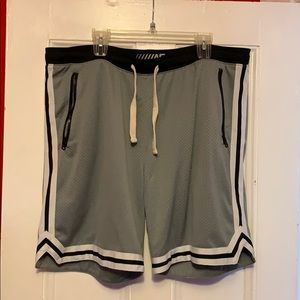 Grey Athletic Shorts